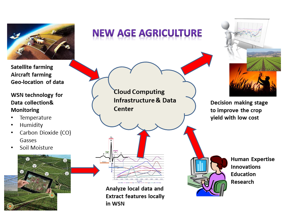 Wireless Sensor Networks For Agricultural Applications